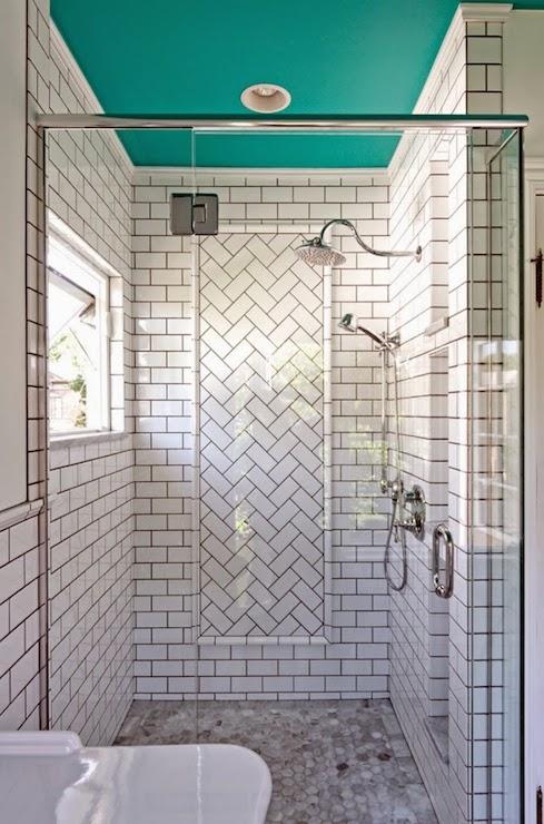 Subway Tile Patterns Contemporary Bathroom Dave Fox