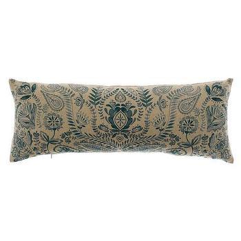 Bluebellgray Arya Teal Cushion, Amara