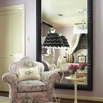 Toile Chair, French, Girl's Room, Sherwin Williams Enchant, Tobi Fairley