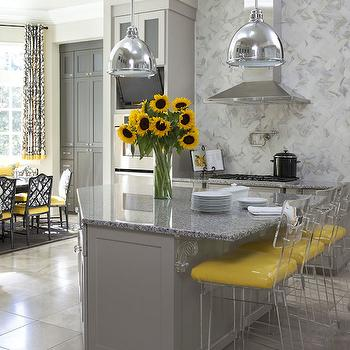 yellow and grey white bedroom decorating ideas - Gray And Yellow Kitchen Ideas