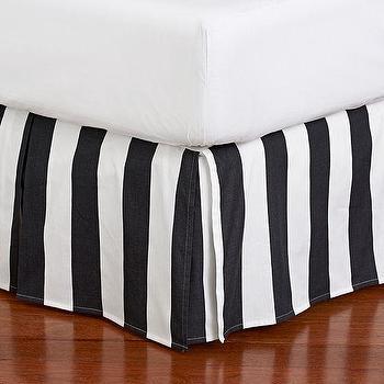 The Emily + Meritt Circus Stripe Bedskirt, PBteen