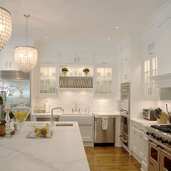 Art Deco Chandeliers, Transitional, kitchen, Integrity Custom Woodworks