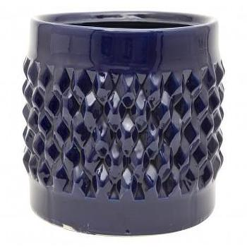 Decor/Accessories - Bamileke Bowl - Indigo | Jayson Home - blue bamileke bowl, bamileke bowl, indigo blue blue,