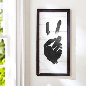 Peace Sign Wood Art, PBteen