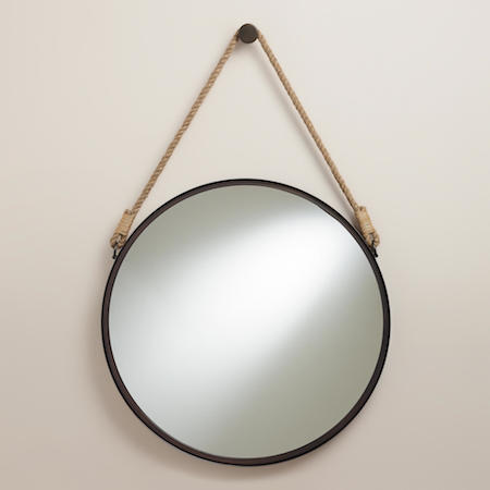 World Market Fynn Captain's Mirror Look for Less