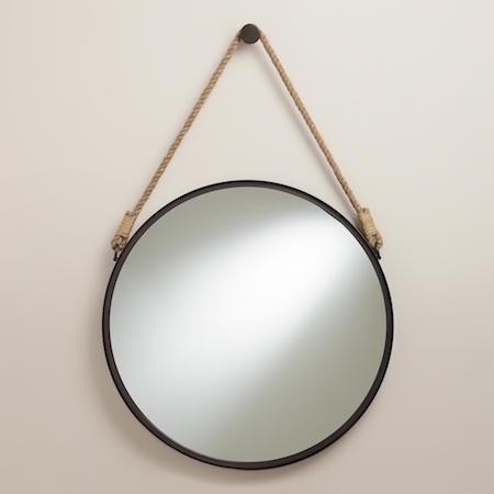 World Market Fynn Captain's Mirror Look for Less