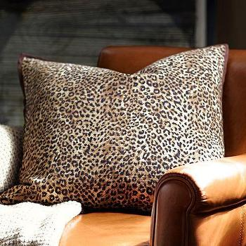 Pillows - Cheetah Printed Pillow Cover | Pottery Barn - cheetah print pillow, animal print pillow, cheetah patterned pillow,