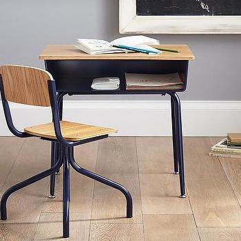 Storage Furniture - My First School House Desk | Pottery Barn Kids - school house desk, vintage school house desk, vintage kids desk,