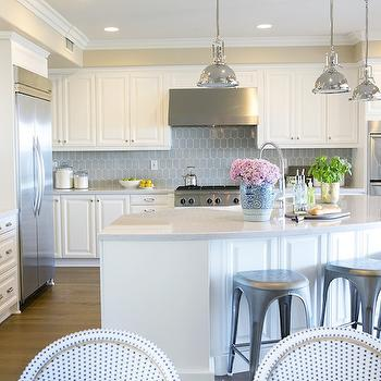 Curved Kitchen Island, Transitional, kitchen, Studio McGee