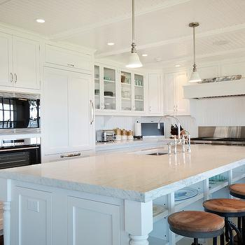 L Shaped Kitchen, Cottage, kitchen, Hamptons Habitat