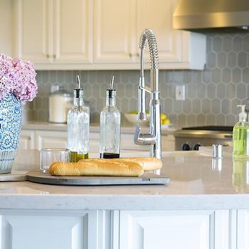Silestone Lagoon, Transitional, kitchen, Studio McGee