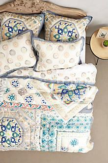 Bedding - Ponsonby Bedding I Anthropologie - patchwork quilt, patchwork bedding, handmade patchwork quilt,
