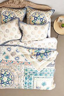 Bedding - Ponsonby Bedding I Anthropologie - patchwork quilt, patchwork bedding, handmade patchwork quilt,