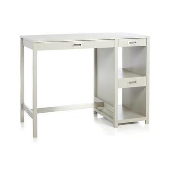 Storage Furniture - Wabash High Dining Table I Crate and Barrel - gray high dining table, gray high top dining table, gray bar height bistro table,