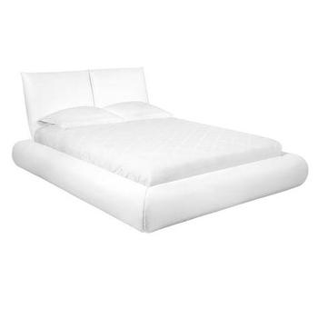 Beds/Headboards - Stratus Bed | Z Gallerie - modern white bed, white platform bed, contemporary bed,