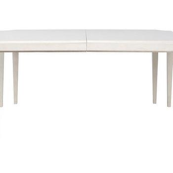 Tables - Addison Rectangular Dining Table | Z Gallerie - white cut corner dining table, white scalloped corner dining table, white double leg dining table,