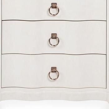 Storage Furniture - Addison 3 Drawer Nightstand | Z Gallerie - white bow front nightstand, white serpentine front nightstand, white scalloped front nightstand,