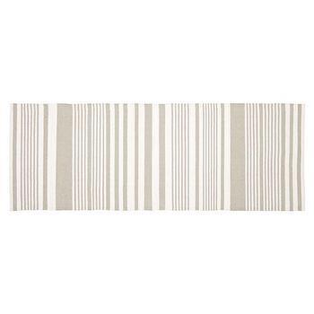 Rugs - Basic Striped Rug | ZARA HOME - gray striped rug, gray striped runner, gray and white striped rug runner,