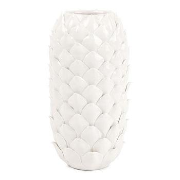 Decor/Accessories - Petals Vase | ZARA HOME - white petal vase, white petal print vase, white petal patterned vase,