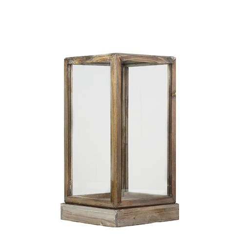 Small Wood Amp Glass Display Box 50 Feathered