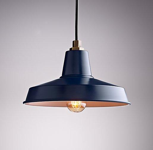 Barn Medium Amp Large Pendant Navy I Rh Baby And Child