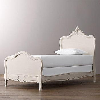 Beds/Headboards - Odette Bed I RH Baby and Child - rococo kids bed, rococo stype bed, replica rococo bed,