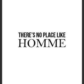 Art/Wall Decor - Homme Print | Luciana - quote print, typography handmade print, unique handmade print, minimal print, black white print
