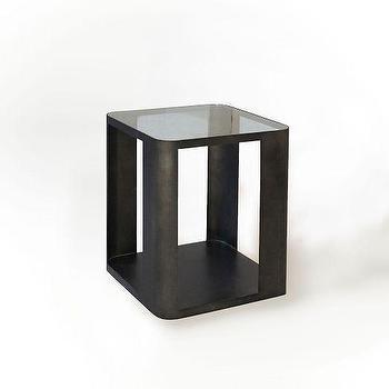 Metal Radius Side Table, West Elm