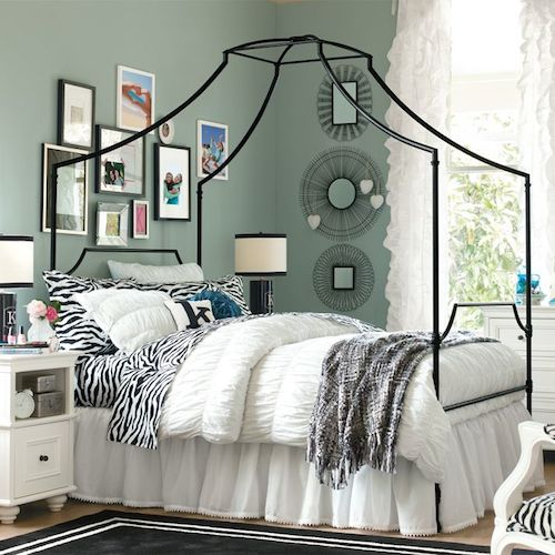 Pottery Barn Teen Maison Canopy Bed Look for Less
