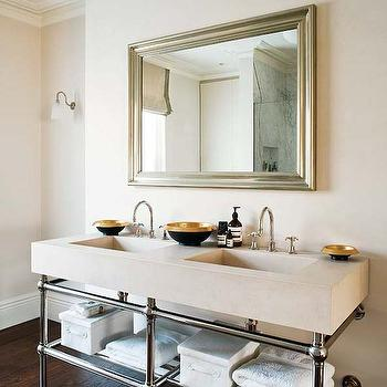 Double Washstand Ideas, Transitional, bathroom, The Anderson Studio
