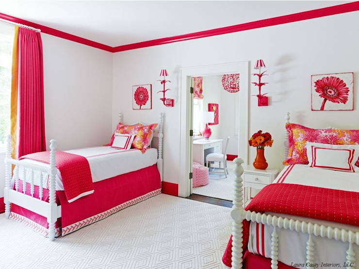 Transitional Girl S Room Laura Casey Interiors