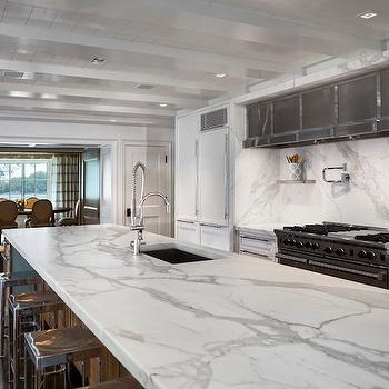 Statuary Countertops, Transitional, kitchen, Vincent Burin Architects