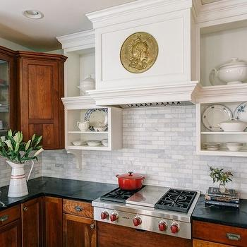 Soapstone Counters, Cottage, kitchen, Sandy Muraca Design