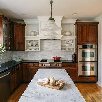 Quartzite Countertops, Cottage, kitchen, Sandy Muraca Design