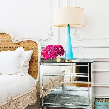 Turquoise Table Lamp, Eclectic, bedroom, Domaine Home