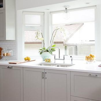 Love It or List It - Gorgeous kitchen with bay window highlighting a