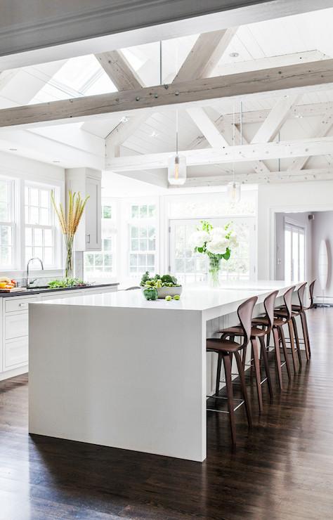 Kitchen Truss Ceiling Contemporary LDa