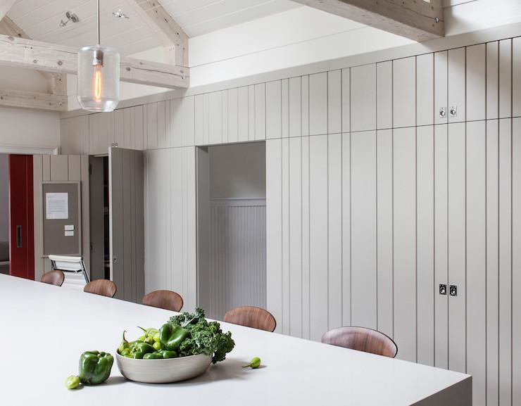 Truss Ceiling Kitchen Lda Architects