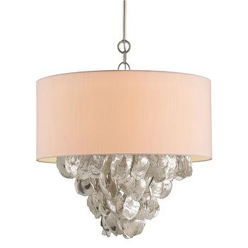 Currey & Company Capri Chandelier I Zinc Door