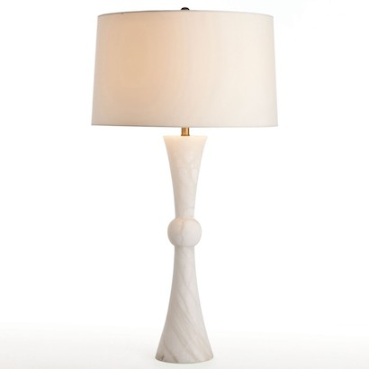 Arteriors Noah Snow Marble Table Lamp Look for Less