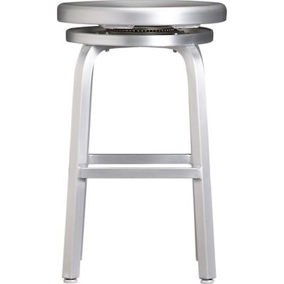 Crate & Barrel Spin Counter Stool Look for Less