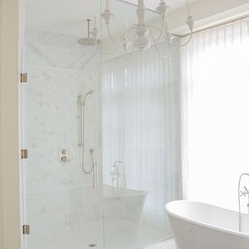 Corner Shower, Transitional, bathroom, LVZ Design