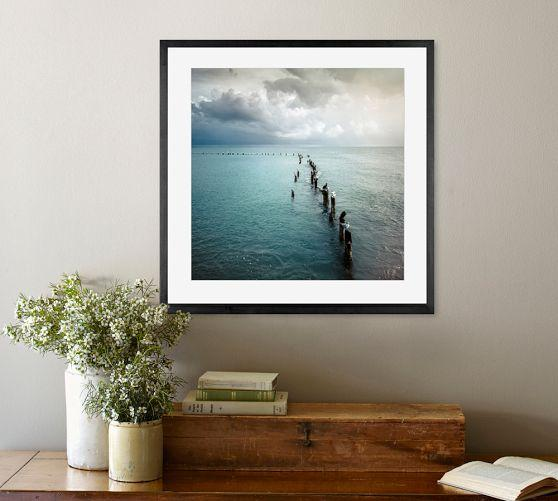 Cloud Window Curtains 3d Printing Nautical Home Decor: Coastal Framed Print By Cindy Taylor