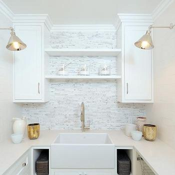 Laundry Room Shelving, Transitional, laundry room, Luxe Design Build