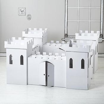 Decor/Accessories - Kardboard Kingdom | The Land of Nod - cardboard playhouse, cardboard play castle, cardboard castle,