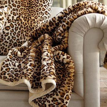 Decor/Accessories - Faux Fur Throw Brown Cheetah | Pottery Barn - cheetah print throw, faux cheetah throw, faux cheetah fur throw,