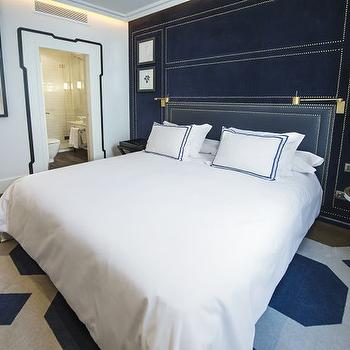 Upholstered Walls, Contemporary, bedroom, Only You Hotel