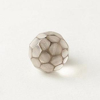 Decor/Accessories - Faceted Mosaic Knob I anthropologie.com - faceted glass knob, glass mosaic knob, glass mosaic hardware, faceted knob,