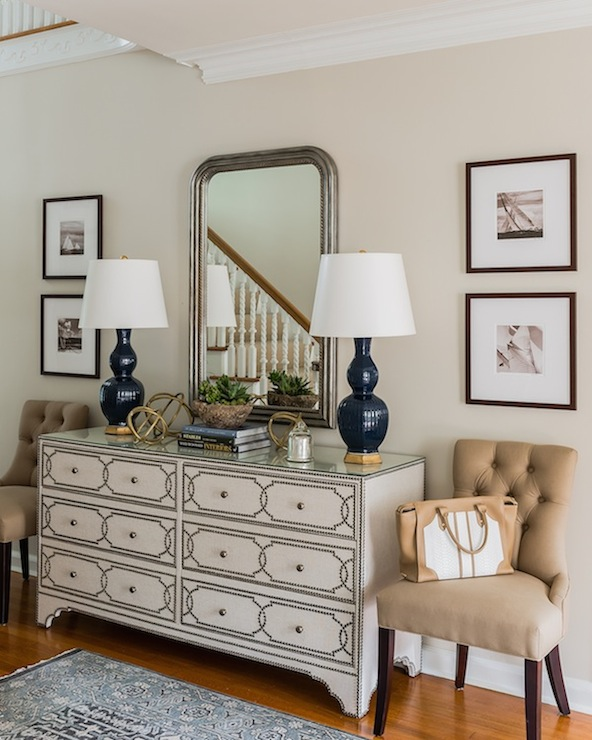 Bernhardt Cabrillo Nailhead Dresser Transitional