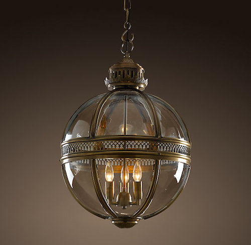 Restoration Hardware Victorian Hotel Pendant Look for Less